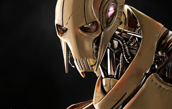 Star Wars, General Grievous, Cyborg, Qymaen Jai Shelal, The Confederacy of independent systems, Supreme commander …