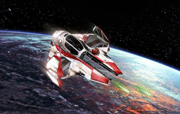 Star Wars, Coruscant, type, light interceptor, Actis, This-2, Republican, Jedi