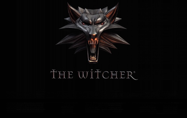 Style, background, wolf, mouth, medallion, grin, the witcher, amulet, the Witcher, wolf, witcher, CDProjekt RED,