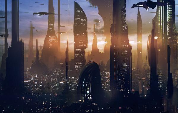 Star Wars, Skyscraper, Coruscant